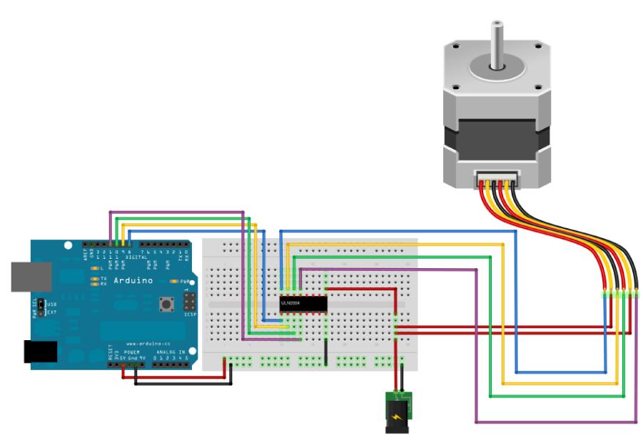 Arduino - Motor on